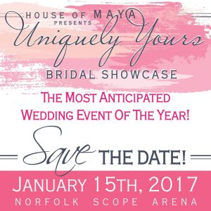 uniquely yours bridal showcase, hampton roads bridal show, norfolk bridal show, plan your wedding norfolk, house of maya, the bridal dish by house of maya, uniquely yours